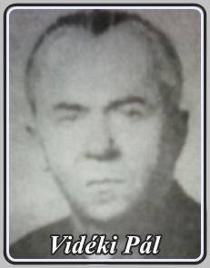 VIDÉKI PÁL 1911 - 1993 ..