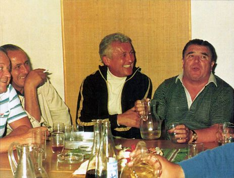 A Fradi Borozóban. 1984.