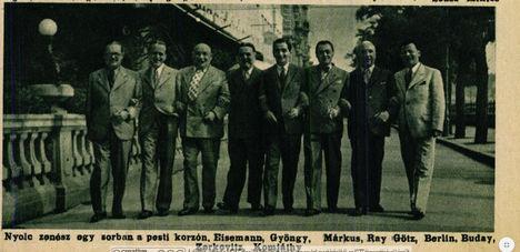 Slágerkomponisták 1936 Irving Berlinnel