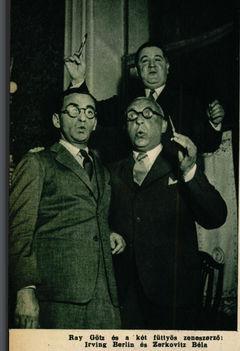 Slágerkomponisták Irving Berlinnel 1936
