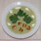 Zöld zellerkrém leves