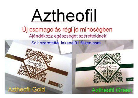 Aztheofil csokik  ajándék