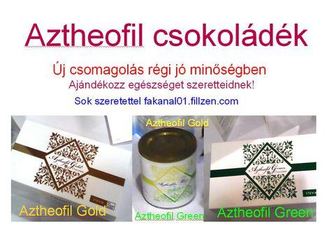 Aztheofil finomságok 3 fajta