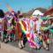 Csingis lovak felvonulása a Halászi Szent Márton búcsú napján, 2016. november 11.-én 2