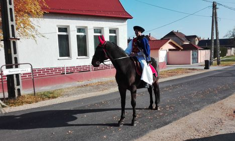 Csingis lovak felvonulása a Halászi Szent Márton búcsú napján, 2016. november 11.-én 4