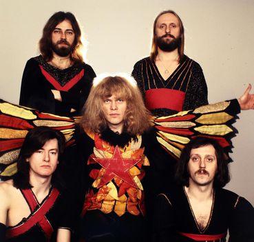 1976-ban az Omega együttes tagjai