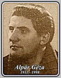 ALPÁR GÉZA 1911 - 1998