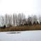 Keréktó Szabadidő Központban a tó 2021. február 16.
