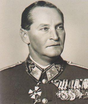Dálnoki Miklós Béla vezérezredes 1944-ben