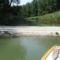 Felső-Jakabi zárás a Cikolai ágrendszerben, Szigetközi hullámtéri vízpótlórendszer, Dunasziget 2016. július 26.-án 1