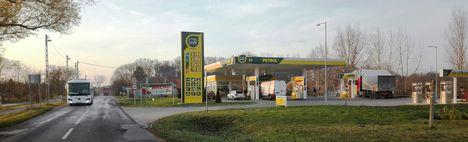 Ismét működik benzinkút Szigetköz szívében, Hédervár 2016 november 23.-án