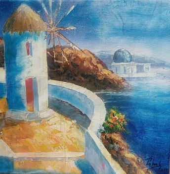 Polnai Gábor - Görög tengerpart