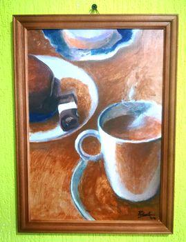Polnai Gábor - reggeli kávé