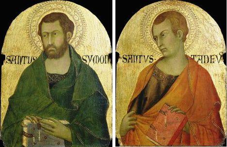 SZENT SIMON és JÚDÁS(Tádé)apostolok