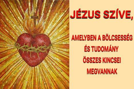 JÉZUS SZENTSÉGES SZÍVE
