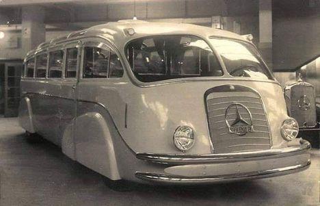 Mercedes Benz Lo 3100 busz- Németo-1935