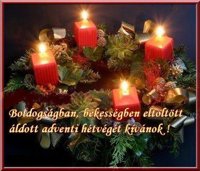 advent vasarnap!!!!
