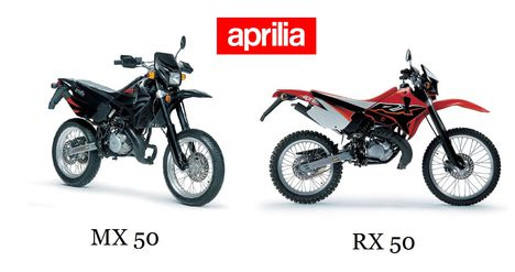 Aprilia MX vs, RX