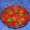Bazsalikomos paradicsom saláta