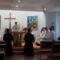 Fogadalomtétel, szentmise