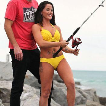 Jenelle Evans bikini miami