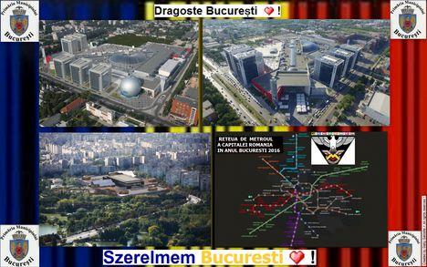 București  Főváros : képkollázs