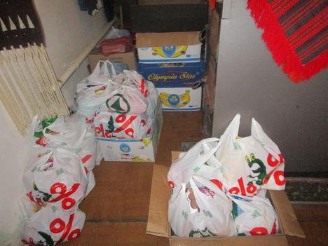 adomány, gyűjtés ,osztás. 4