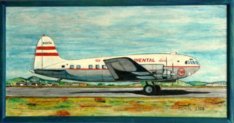 B 307 Stratoliner (Trans Continental/