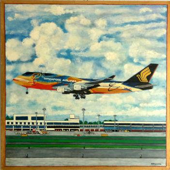 B 747 SIA