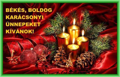 Békés Boldog Karácsonyi Ünnepet.