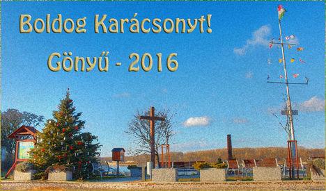 Boldog Karácsonyt! Gönyű - 2016