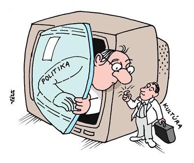 karikatura - Földes Vilmos-szerény kopogtatás 2007