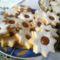 Narancsos töltött keksz recept