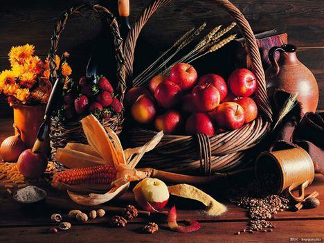 Allmával szép őszi kép