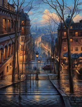 Egy párisi hajnalon