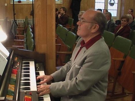 Én orgonálás közben