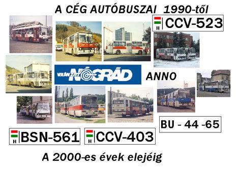Ikarusok a Nógrád Volánnál (1990-2000)
