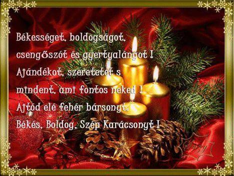 Karácsonyi kívánság...