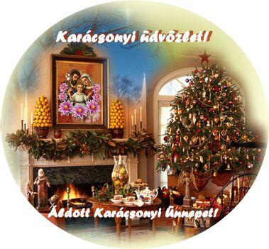 Karácsonyi üdvözlettel.