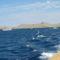 Kornati a hajóról nézve