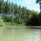 Szürke Duna-ág a Szigetközi hullámtéri vízpótlórendszerben, Lipót 2016. július 15.-én 1