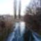 Befagyott a Nováki csatorna a Püski község külterületén lévő Salamon erdő melletti közúti hídnál, 2016 január 06  1