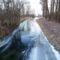 Befagyott a Nováki csatorna a Püski község külterületén lévő Salamon erdő melletti közúti hídnál, 2016 január 06  2