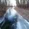 Befagyott a Nováki csatorna a Püski község külterületén lévő Salamon erdő melletti közúti hídnál, 2016 január 06  3