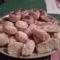 Burgonyás Pogácsa kukoricaliszt-kenyérliszt keveréke