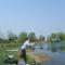 Gabi is szeret horgászni
