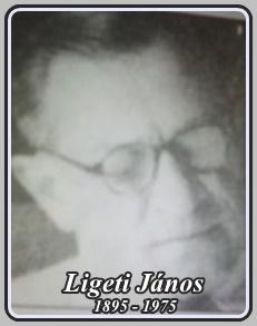 LIGETI JÁNOS 1895 - 1975 ..