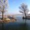 Lipóti Holt-Duna a Hattyú-sziget felől, Lipót 2016. december 31.-én