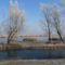 Lipóti Holt-Duna a Hattyú-sziget felől, Lipót 2016. december 31.-én 2