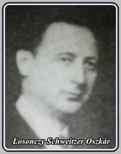 LOSONCZY-SCHWEITZER OSZKÁR 1890 - 19?? ..